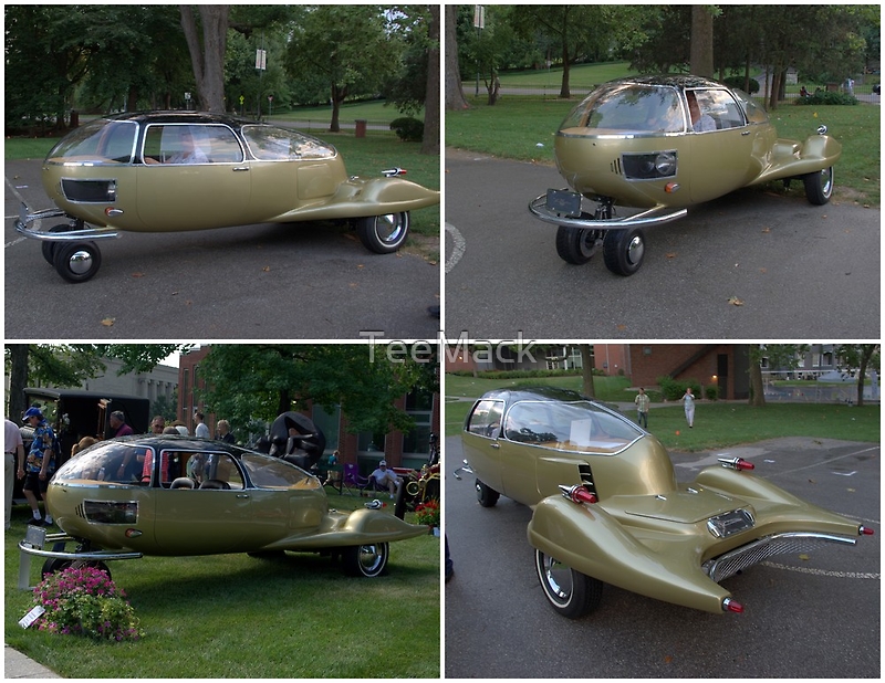 1969 Fascination Prototype Two Seater Automobile by TeeMack