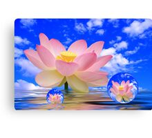 Born in Water Canvas Print
