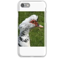 Portrait of a Duck iPhone Case/Skin