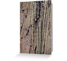 Climbers on Devils Tower Greeting Card