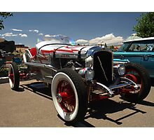 1928 INDY Race car Marmon Inline Eight Photographic Print