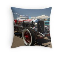 1928 INDY Race car Marmon Inline Eight Throw Pillow