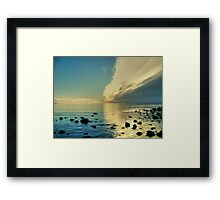 When Two Worlds Collide.. Framed Print