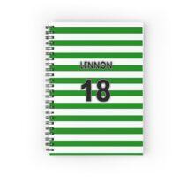CFC Neil Lennon Shirt Design  Spiral Notebook