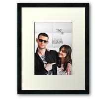 Matt and Jenna Framed Print