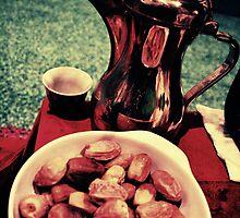 Coffee and Dates - Saudi Arabia by Karen Field