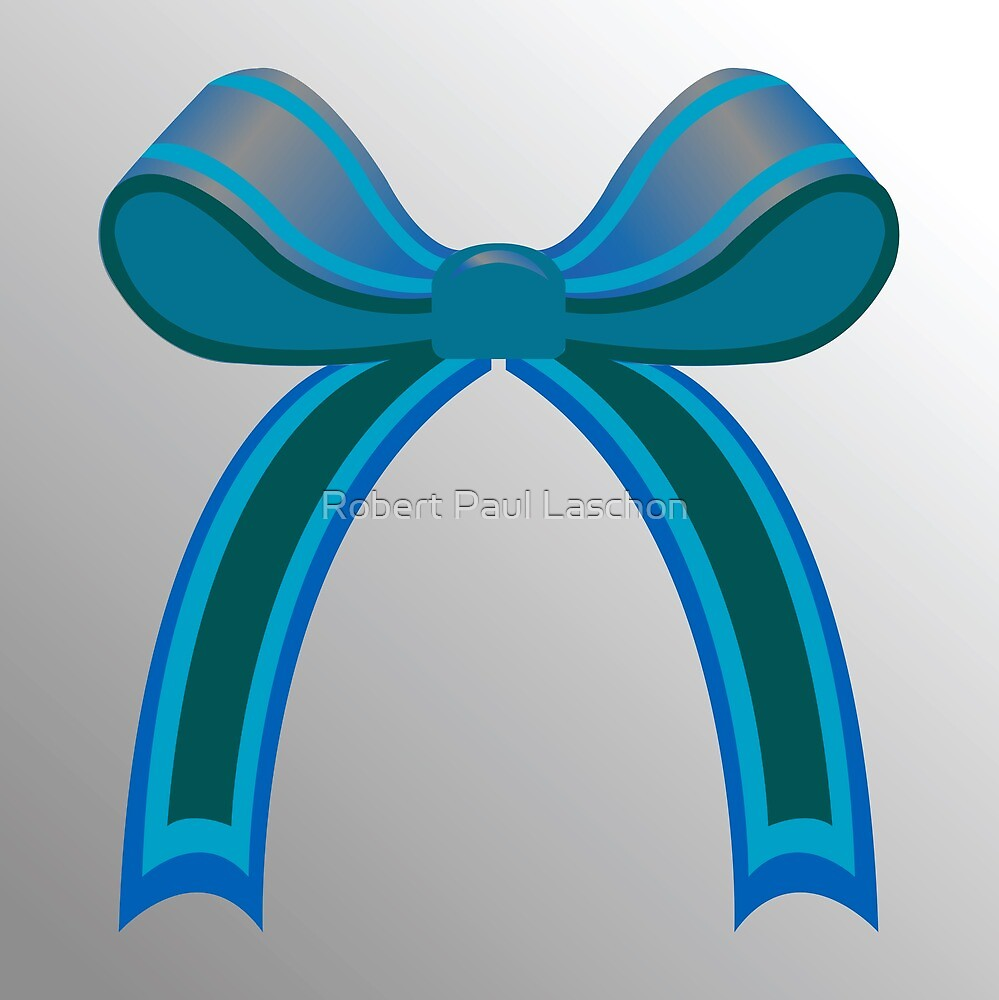 Blue ribbon by Laschon Robert Paul