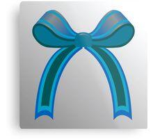 Blue ribbon Metal Print