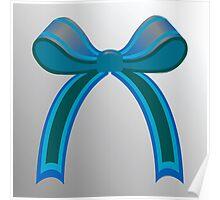 Blue ribbon Poster