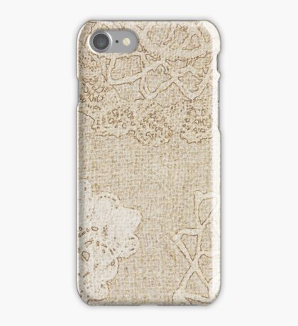 Lace Journal iPhone Case/Skin