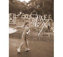 Bubbly Fun Photographic Print