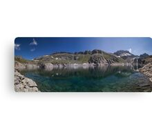 At the Reservoir Canvas Print