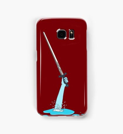 Excalibur and the Lady of the Puddle Samsung Galaxy Case/Skin