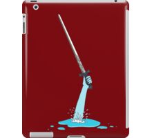 Excalibur and the Lady of the Puddle iPad Case/Skin