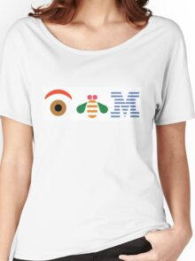 IBM Eye Bee M logo Women's Relaxed Fit T-Shirt