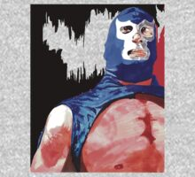 Blue Demon Jr.  by HolyDemonKnight