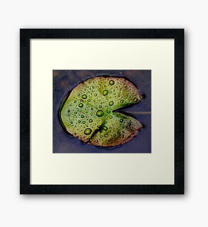 Pac Man Framed Print