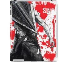 Your Sins Will Be Judged...again iPad Case/Skin