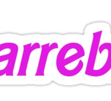 Barrebie Sticker