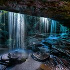 Sparkling Falls by Ian English