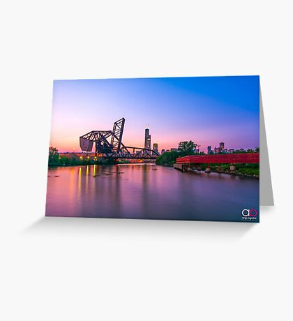 Ping Tom Park Greeting Card