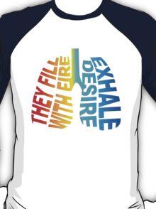 Car Radio Lungs Design  T-Shirt