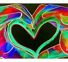 Universal Sign for LOVE Photographic Print