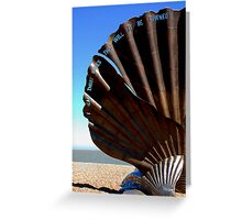 Aldeburgh Sculpture Greeting Card