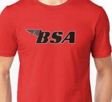 BSA White Outline Unisex T-Shirt