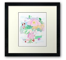 Nintendo Makin it rain! Framed Print