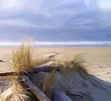 Newport Oregon Summer Beach by Shelley Bain