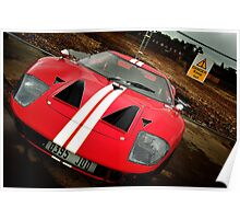 Ford GT 2004 Poster
