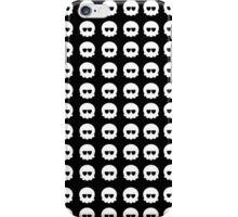 White Skull Pattern iPhone Case/Skin