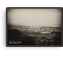 Belfast Mean and Moody Canvas Print
