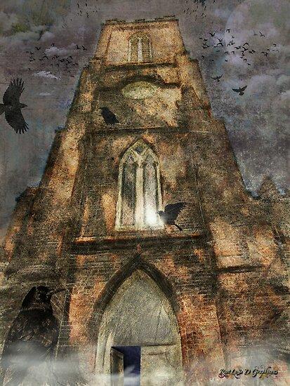 The Raven (image and poem) (Favorites: 28) by Rhonda Strickland