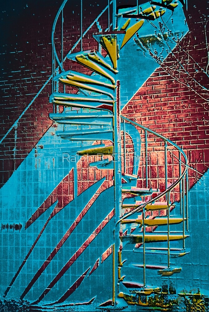 Spiral Staircase Multi-Color(C-B) by Ralph B. Chance