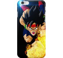Bardock on Fire iPhone Case/Skin