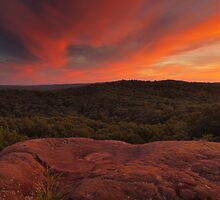 Garden of the Gods Sunset by David Allen