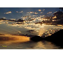 Rays Of Hope Photographic Print