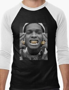 ASAP Rocky Golden Men's Baseball ¾ T-Shirt