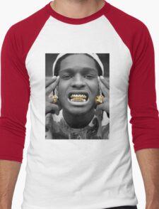 ASAP Rocky Golden Men's Baseball ¾ T-Shirt