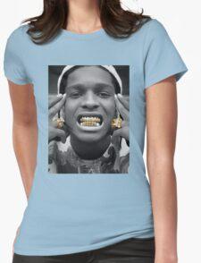 ASAP Rocky Golden Womens Fitted T-Shirt