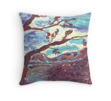 The Death of the Apple Tree Throw Pillow