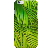 leaves background iPhone Case/Skin