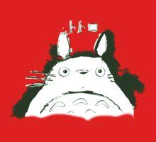 Neighbor Ink Scroll Totoro One Piece - Short Sleeve