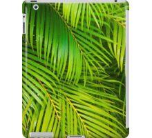 leaves background iPad Case/Skin