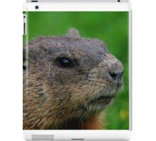 Woodchuck Profile iPad Case/Skin