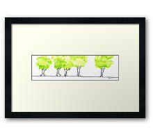 Treetrip Framed Print