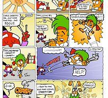 The Carrotty Kid: Chopsticks  by Fanton