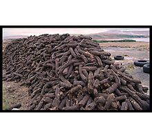 Hand-Cut Peat Fuel - Donegal Photographic Print